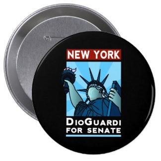 Nueva York DioGuardi para el senado Pin