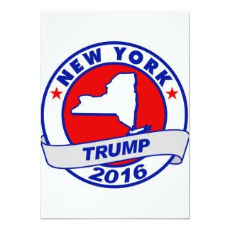"""Nueva York Donald Trump Donald Trump 2016 2016.png Invitación 5"""" X 7"""""""