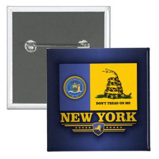 Nueva York (DTOM) Pin Cuadrada 5 Cm