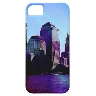 Nueva York, efecto púrpura iPhone 5 Case-Mate Funda