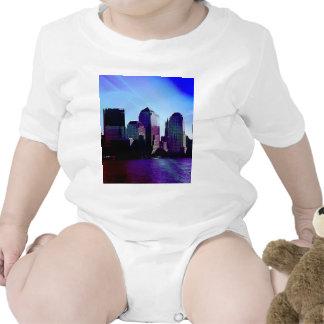 Nueva York, efecto púrpura Traje De Bebé