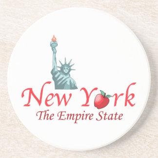 Nueva York el estado del imperio Posavasos Manualidades