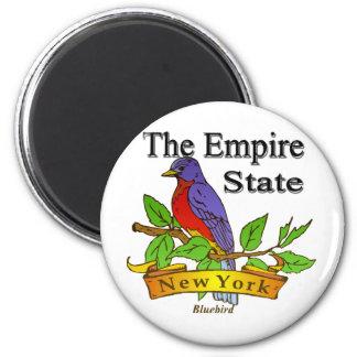 Nueva York el pájaro de estado del imperio Iman Para Frigorífico