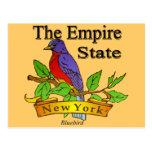 Nueva York el pájaro de estado del imperio Tarjetas Postales