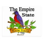 Nueva York el pájaro de estado del imperio Postales