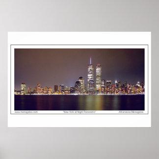 Nueva York en la noche Posters