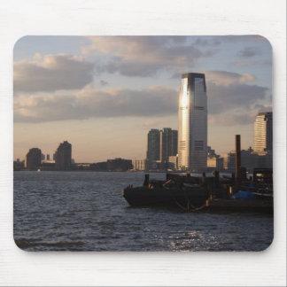 Nueva York en la puesta del sol tomada por el puer Alfombrilla De Raton