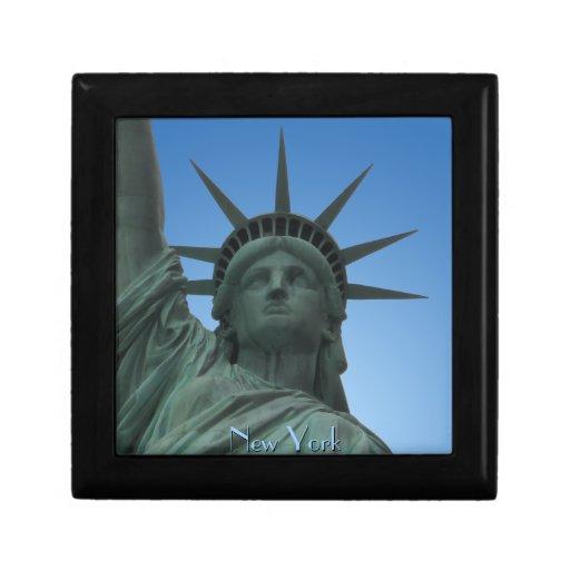 Nueva York encajona la estatua de Nueva York Giftb Cajas De Joyas