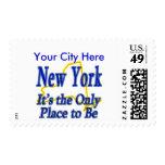 Nueva York es el único lugar a ser Franqueo