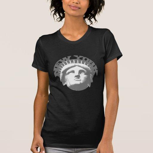 Nueva York - estatua de la libertad Camiseta