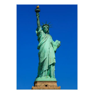 Nueva York, estatua de la libertad Póster