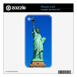 Nueva York, estatua de la libertad Skins Para iPhone 4S