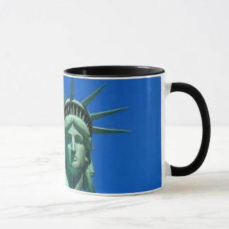 Nueva York, estatua de la libertad Taza