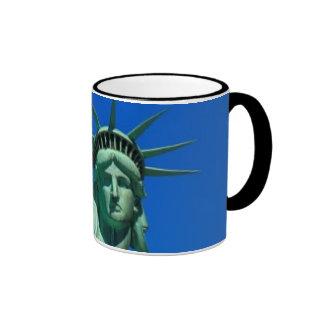 Nueva York, estatua de la libertad Taza De Dos Colores