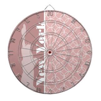 Nueva York estatua de los círculos del color de m Tablero Dardos