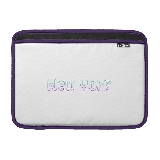 Nueva York Fundas Macbook Air