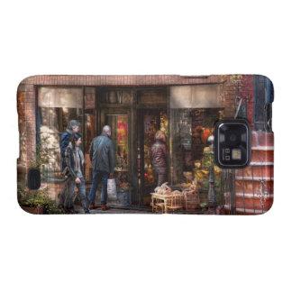 Nueva York - Greenwich Village - la tienda de Galaxy SII Carcasa