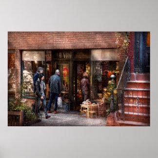 Nueva York - Greenwich Village - la tienda de rega Impresiones