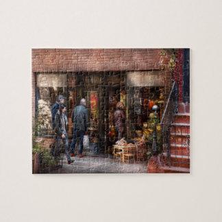 Nueva York - Greenwich Village - la tienda de rega Puzzle Con Fotos