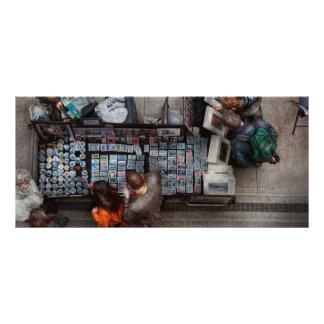 Nueva York - Greenwich Village - vendo las fotos Plantillas De Lonas
