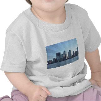 Nueva York, horizonte, suavemente azul Camiseta