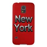Nueva York industrial - en rojo Funda Para Galaxy S5