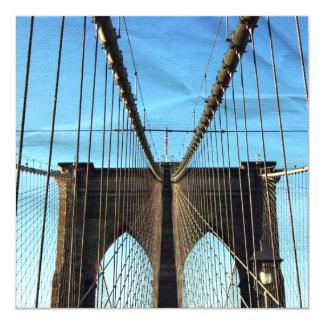 Nueva York Invitación 13,3 Cm X 13,3cm