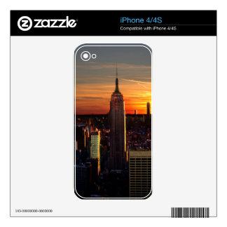 Nueva York iPhone 4S Calcomanía