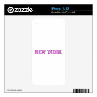 Nueva York iPhone 4S Skin