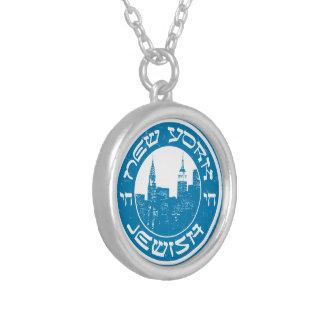 Nueva York judía Collares Personalizados