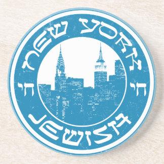 Nueva York judía Posavasos Cerveza