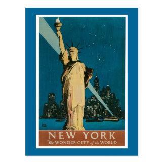 Nueva York:  La ciudad de la maravilla del mundo Postal