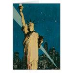 Nueva York: La ciudad de la maravilla del poster d Felicitaciones