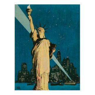 Nueva York: La ciudad de la maravilla del poster Postal