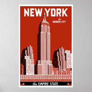 Nueva York la ciudad de la maravilla Impresiones