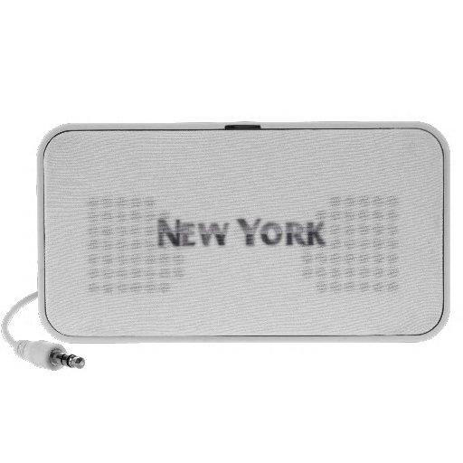 Nueva York Laptop Altavoces