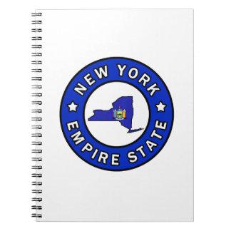 Nueva York Libreta Espiral