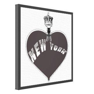 Nueva York Lienzo Envuelto Para Galerías