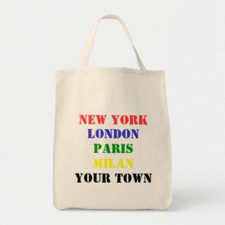 Nueva York, Londres, París, Milano, la su bolsa de