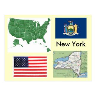 Nueva York, los E.E.U.U. Tarjeta Postal