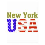 ¡Nueva York los E.E.U.U.! Tarjetas Postales