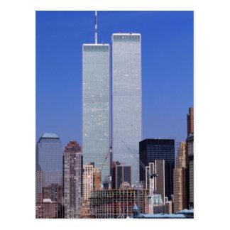 Nueva York, los E.E.U.U. Torres gemelas del mundo Postales