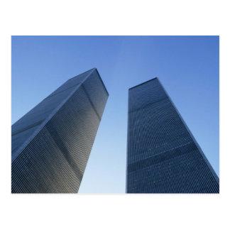 Nueva York, los E.E.U.U. Visión para arriba en las Tarjetas Postales