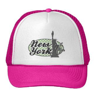 Nueva York; Lunares verdes del laurel Gorras De Camionero