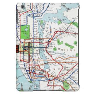 Nueva York: Mapa del subterráneo, 1940 Funda Para iPad Air
