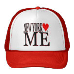 Nueva York me ama Gorras De Camionero
