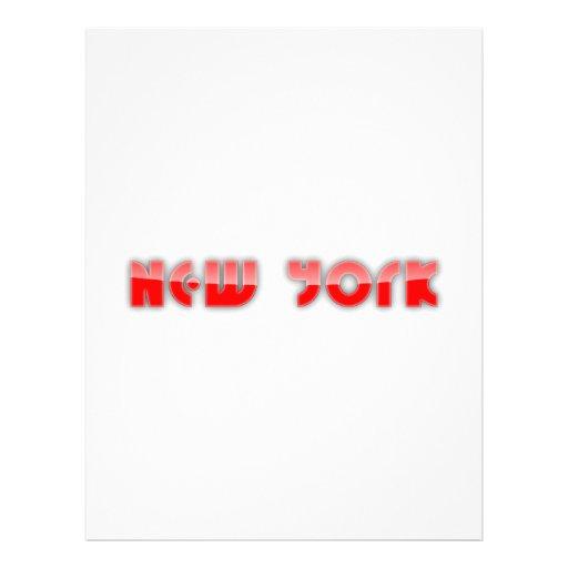 Nueva York Membrete A Diseño