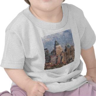 Nueva York, mirada del lápiz Camiseta