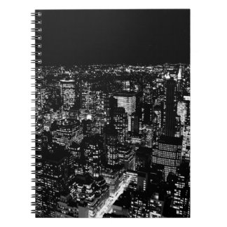 Nueva York negra y blanca Note Book
