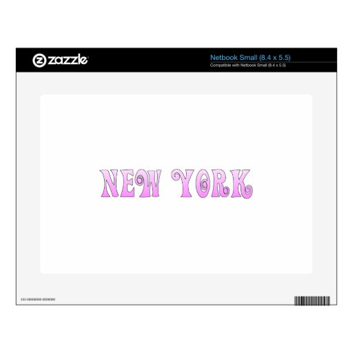 Nueva York Netbook Pequeño Skin
